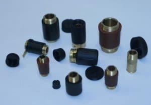 portaspazzole tubolari in ottone isolati nylon - scepsironi.com
